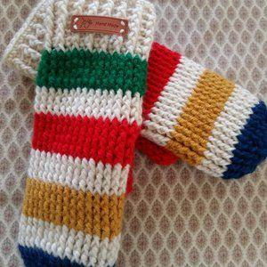 HBC My Way Crochet Mittens